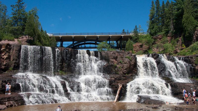 Modern Day Gooseberry Falls