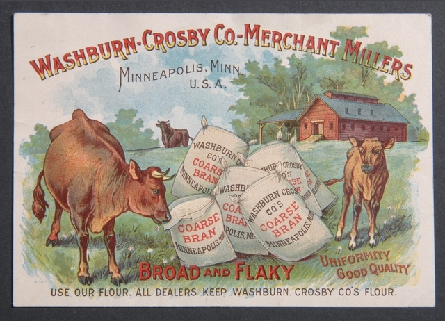 Washburn-Crosby Company Trade Card