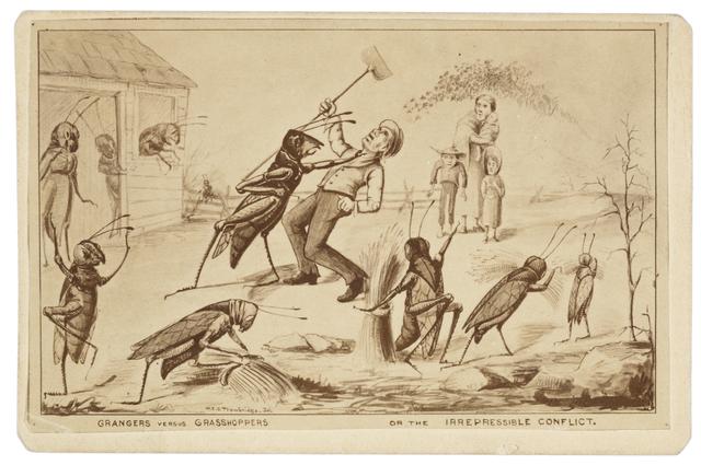 Grasshopper Political Cartoon