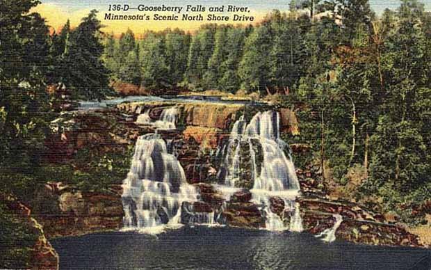 Gooseberry Falls Postcard