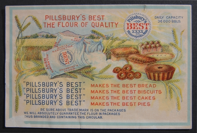 Pillsbury Trade Card