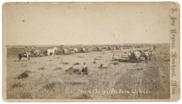 Bonanza farm in the Red River Valley